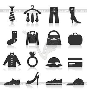 Clothes - vector clipart