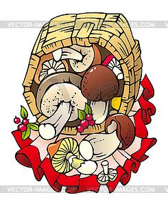 Грибы сбор и приготовление грибов