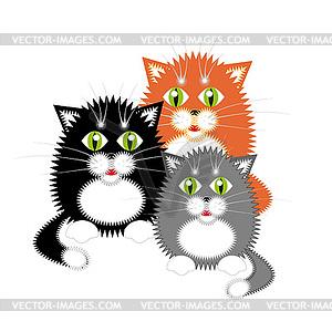 Три котенка 1