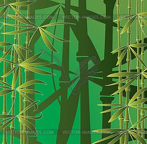 Бамбуковый лес векторное