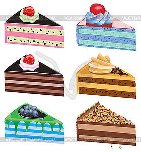 Рисунок кусок торта