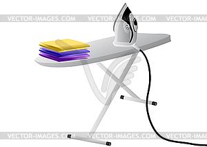 b geleisen und brett farbige vektorgrafik. Black Bedroom Furniture Sets. Home Design Ideas