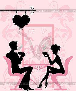 Langes Geschlecht clp des Paares