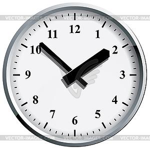 Wall clock. - vector clip art