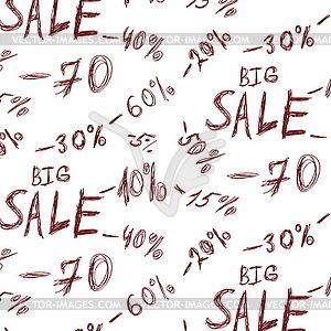 Große Verkaufs Hintergrund - Vektor-Clipart / Vektorgrafik