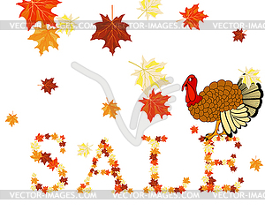 Thanksgiving Day - Vektorgrafik