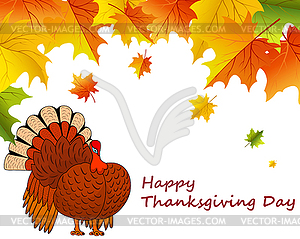 Thanksgiving Day - Vector-Clipart EPS