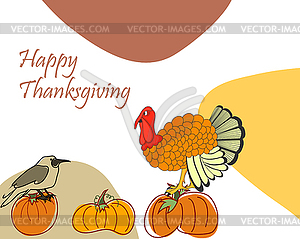 Thanksgiving Day - Vektorgrafik-Design