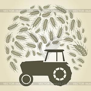 Landwirtschaft - Vektorgrafik-Design