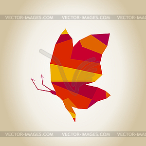 Abstrakte Schmetterling - Vektor-Illustration