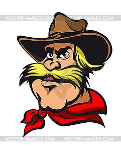 Cowboy - Stock Vektorgrafik