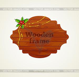 Holz-Hintergrund - Stock-Clipart