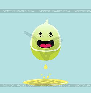 Nette kawaii animalischen abstrakte Zeichentrickfigur - Vector-Clipart / Vektorgrafik