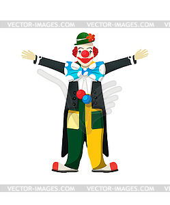 Lächelnder Clown - Vector-Design