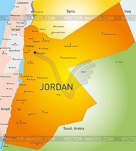 Jordan - Stock-Clipart