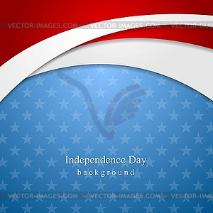 Abstrakt Independence Day Hintergrund - Stock-Clipart