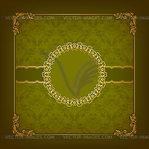Elegante Vorlage für vip Luxus Einladung - Vektor-Clipart EPS