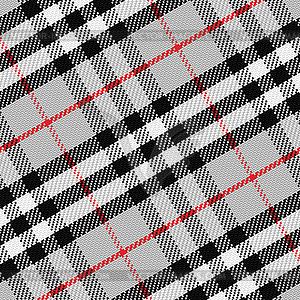 Nahtlose Muster schottischen Tartan - Vektorgrafik