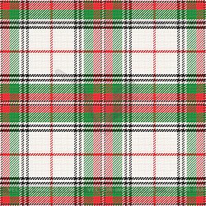 Nahtlose Muster schottischen Tartan - vektorisiertes Clipart