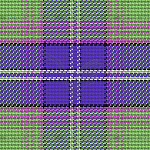Nahtlose Muster schottischen Tartan - Vector-Bild
