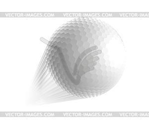 Golfball - Vektor-Klipart