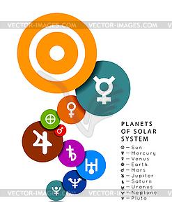 Planet des Sonnensystems - Clipart-Bild
