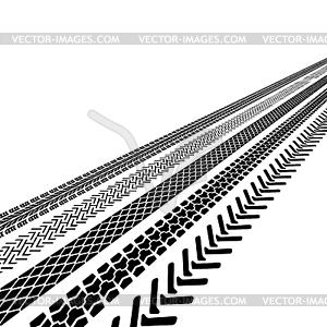 Reifendruck, - Stock Vektor-Bild