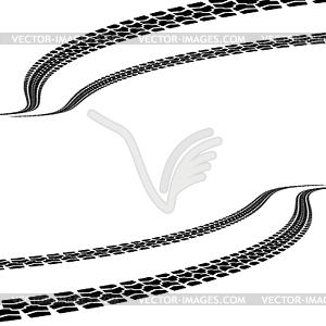 Reifendruck, - Vector-Clipart / Vektor-Bild