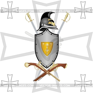 Deutsch Waffen - Stock-Clipart
