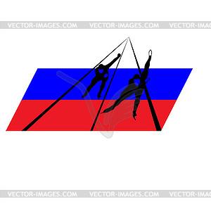 Olympischen Spiele in Russland - Vector-Clipart / Vektor-Bild