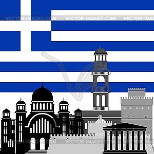 Griechenland - Vektorgrafik
