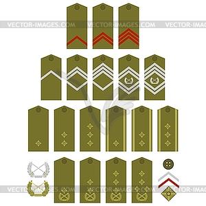 Bodentruppen in Serbien - Royalty-Free Clipart