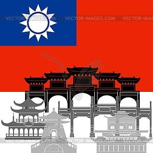 Taiwan - Vektor-Clipart EPS