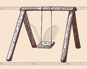 Swing-Skizze - Vector-Clipart / Vektor-Bild