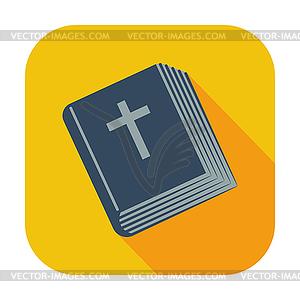 Bibel einzelnes Symbol - Vektor Clip Art