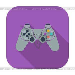 Spiel-Symbol - Vektorgrafik-Design