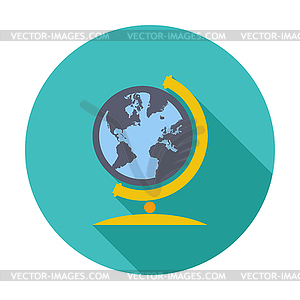 Schule Globe - Royalty-Free Clipart