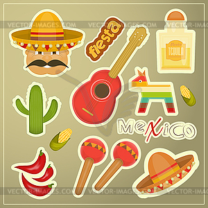 Mexican Icons - Klipart