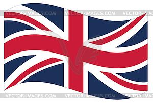 Flagge. Großbritannien - Vektor-Klipart