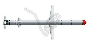 Сruise Raketen - Vektorgrafik-Design