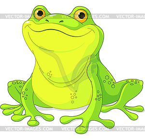 Frosch - Vektor-Skizze