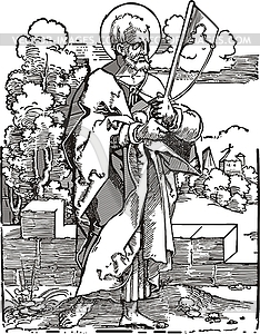 Heiliger Jakobus - vektorisiertes Clip-Art