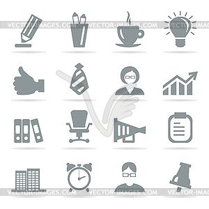 Büro-Icons - Clipart-Design