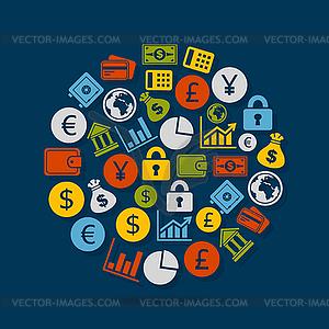 Business-Bereich - Stock Vektorgrafik
