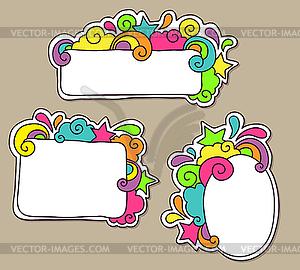 Funky Frames - Vektor-Clipart / Vektorgrafik
