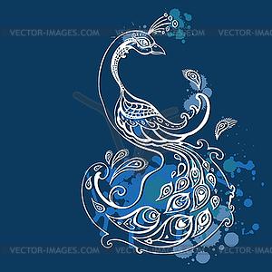 Peacock - Vector-Clipart / Vektor-Bild