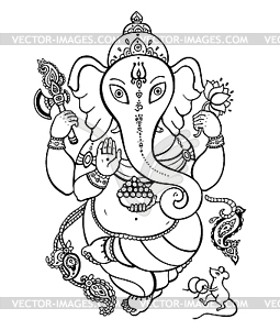 Ganesha - Vektor-Illustration