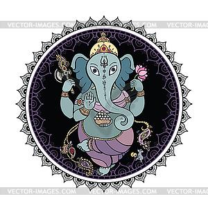 Lord Ganesha - Clipart-Bild
