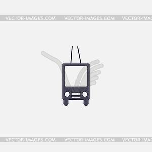 Obus-Symbol - Vektorgrafik