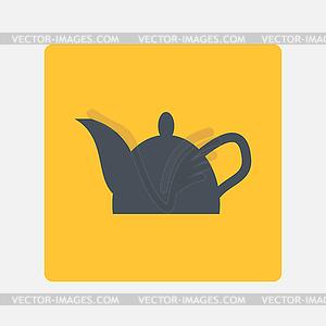 Wasserkocher icon - vektorisiertes Bild